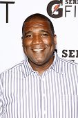 LOS ANGELES - APR 12:  Curt Menefee at the 'Gatorade G Series Fit Launch Event' at the SLS Hotel in