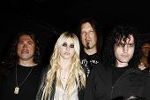 LOS ANGELES - APR 9:  Taylor Momsen with her band 'The Pretty Reckless' at the Vans Warped Tour 2010 Press Conference and Kick-Off Party, Key Club, Los Angeles, California on April 9, 2010.