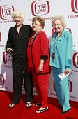 SANTA MONICA - JUNE 8:  Bea Arthur, Rue McClanaghan and Betty White at the 6th annual TV Land Awards