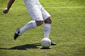 Soccer Player Free Kick
