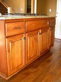 Solid Alder Wood Cabinets