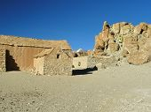 Barrancos de la aldea, Altiplano, Bolivia