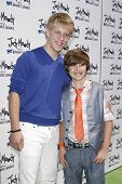 LOS ANGELES - JUN 4: Jackson Odell, Garrett Ryan at the premiere of Relativity Media's 'Judy Moody And The NOT Bummer Summer' held at ArcLight Hollywood in Los Angeles, California on June 4, 2011.