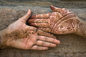Mehandi Art On Palm