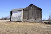 Old Worn Barn