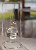 Refillable Modern Glass Lamp