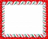 Christmas Candy Ribbon Border 1