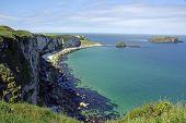 Limestone Cliffs On The Antrim Coast