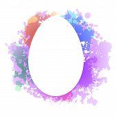 Easter egg grunge