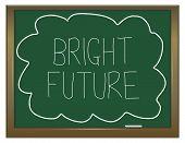 Bright Future Concept.