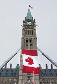 Centre Block Flag