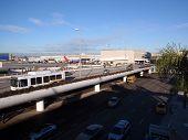 Área de chegada do aeroporto LAX