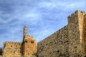 Dating from 2nd Century BCE, the Tower of David is so named because Byzantine Christians believed th