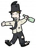 pic of hobo  - cartoon hobo - JPG
