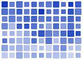Square Blue Tiles
