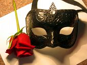 Sexy Black Mask
