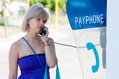 Woman On A Payphone