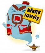 Постер, плакат: Работать