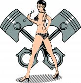 Pinup Girl ClipArt
