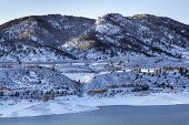 stock photo of horsetooth reservoir  - Arthur - JPG