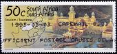 SOUTH AFRICA - CIRCA 1995: A stamp printed in RSA shows los city north west (sun city) circa 1995