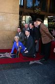 LOS ANGELES - JAN 3:  Chamber officials, Helen Mirren, Jon Turteltaub, David Mamet at the Hollywood Walk of Fame Star Ceremony for Helen Mirren at Pig 'n Whistle on January 3, 2013 in Los Angeles, CA