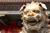 Head Of A Chinese Dragon Statue