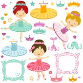 picture of ballerina  - little ballerina set for kids - JPG