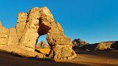 Sahara Desert Rock Arch