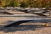 911 Memorial  To Victiims Of Pentagon Attack Arlington Virginia Washington Dc Metropolitan Area