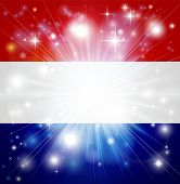 Dutch Flag Background
