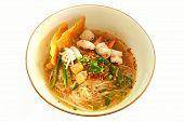 Tom Yum Seafood Noodle