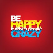 picture of driving  - Be happy - JPG