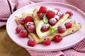 foto of crepes  - pancakes  - JPG