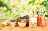 foto of ethanol  - Conceptual photo of bio fuel - JPG