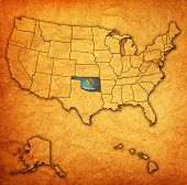 Oklahoma On Map Of Usa