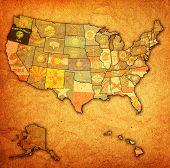 Oregon On Map Of Usa