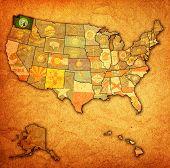 Washington On Map Of Usa