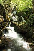 Waterfalls, Arroyo Valdecuevas, Leon.