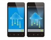 Mobile Phone And Cloud