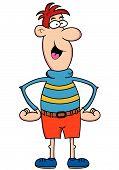 Big Nose Guy Cartoon Character