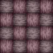 Chequered Pattern Wooden Violet Background