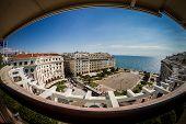 Panoramic View Of Aristotelous, Thessaloniki Greece