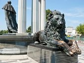 The Monument With Lion