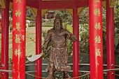 Bronze Statue Chinese Warrior
