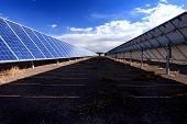 Solar Panel Row
