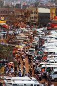Walking Through Kampala Taxi Park