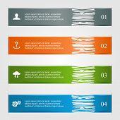 Ragged infographics