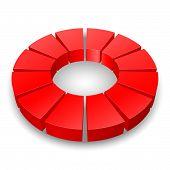 Circular diagram.