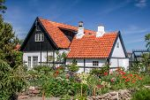 Idyllic Half-timbered House On Bornholm